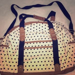 Forever 21 Hearts Totebag